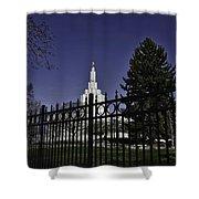 Idaho Falls Temple Series 3 Shower Curtain