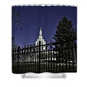 Idaho Falls Temple Series 4 Shower Curtain