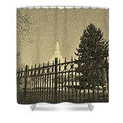 Idaho Falls Temple Series 5 Shower Curtain