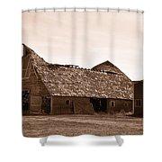 Idaho Falls - Vintage Barn Shower Curtain