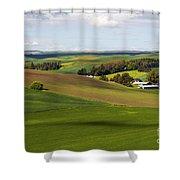 Idaho Farmland Shower Curtain