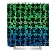 Identical Cells Shower Curtain