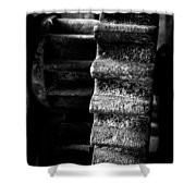 Idle Cog Shower Curtain