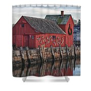 idle tyme at Motif 1 Shower Curtain