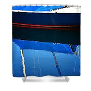 Idle Waters Shower Curtain