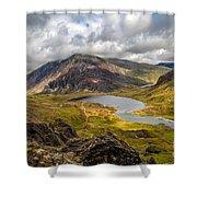 Idwal Lake Snowdonia Shower Curtain