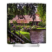 Idyllic Village 14. Venice Of The North Shower Curtain