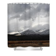 Idyllwild Snowfall Shower Curtain