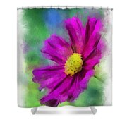 If Flowers Could Talk 01 Shower Curtain