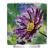 If Flowers Could Talk 04 Shower Curtain