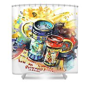 If It Were Not For Caffeine Shower Curtain
