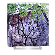 If Wood Could Talk Shower Curtain