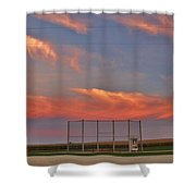 If You Build It The Sun Will Rise Shower Curtain