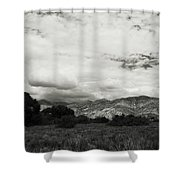 If Your Strength Is Gone Shower Curtain