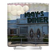 Iggy's Diner Shower Curtain