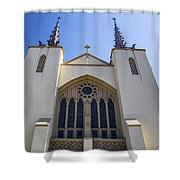 Iglesia 2 Shower Curtain