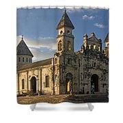 Iglesia De Guadelupe In Granada Nicaragua Shower Curtain
