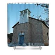 Iglesia De Jaun Batista Lincoln City New Mexico Shower Curtain