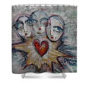 Ignite Love Number 1 Shower Curtain