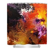 Ignition 1 Shower Curtain