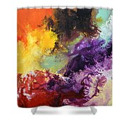 Ignition 2 Shower Curtain