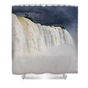 Iguacu Falls Majesty Shower Curtain