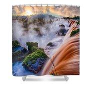 Iguazu Sunrise Shower Curtain