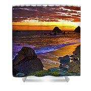 Sunset 6 Shower Curtain