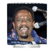 Musician Ike Turner Shower Curtain