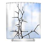 Ikebana Shower Curtain