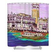 Il Campanile Di San Marco Shower Curtain