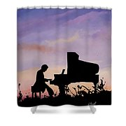 Il Pianista Shower Curtain