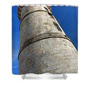 Ile De Re Lighthouse Shower Curtain