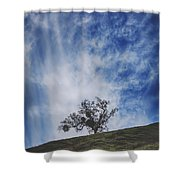 I'll Still Be Standing Here Shower Curtain