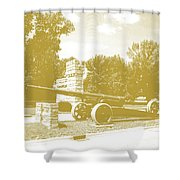 Illinois Veterans' Home Entry Shower Curtain