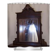 Illuminated Ghost Shower Curtain