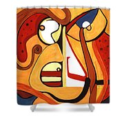 Illuminatus 2 Shower Curtain