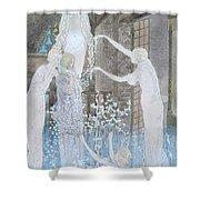 Illustation From Le Reve Shower Curtain