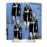I'm Alone Shower Curtain