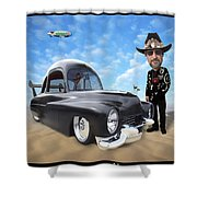 I'm Back . . . Shower Curtain by Mike McGlothlen