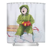 I'm Cooold Shower Curtain