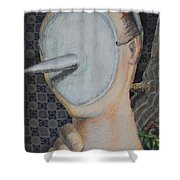 I'm Not A Therapist So I Can Talk About What I Can Talk About Shower Curtain
