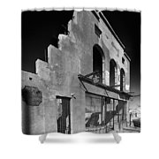 Im Still Standing Jerome Black And White Shower Curtain