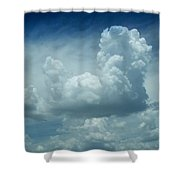 Image In The Sky Shower Curtain