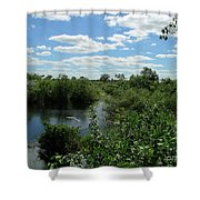 Images Of The Pantanal Shower Curtain