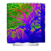 Imaginary Forest Number Two Shower Curtain