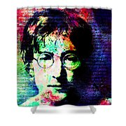 Man Of Song Shower Curtain
