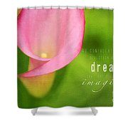 Imagined Shower Curtain by Darren Fisher