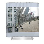 Imaging Chicago Shower Curtain