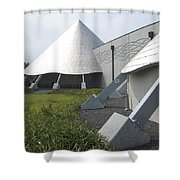 Imiloa Astronomy Center - Hilo Hawaii Shower Curtain